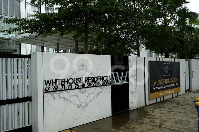 White House Residences White House Residences - Entrance