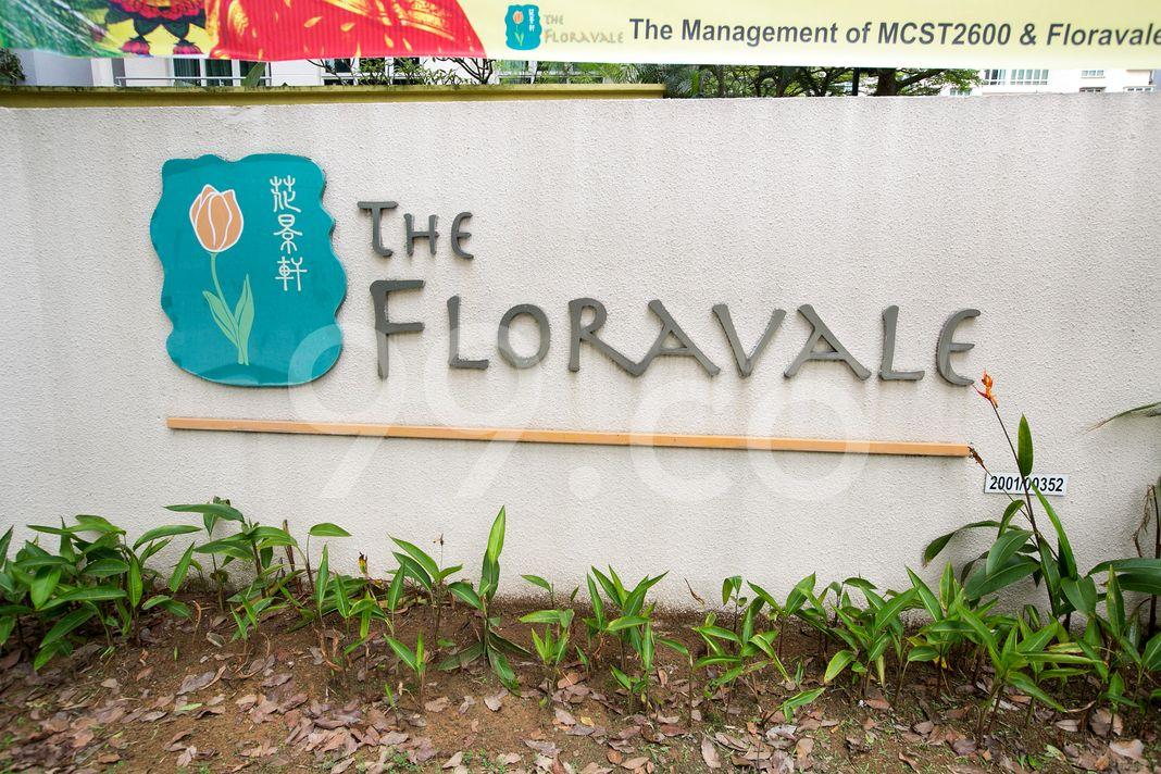 The Floravale  Logo