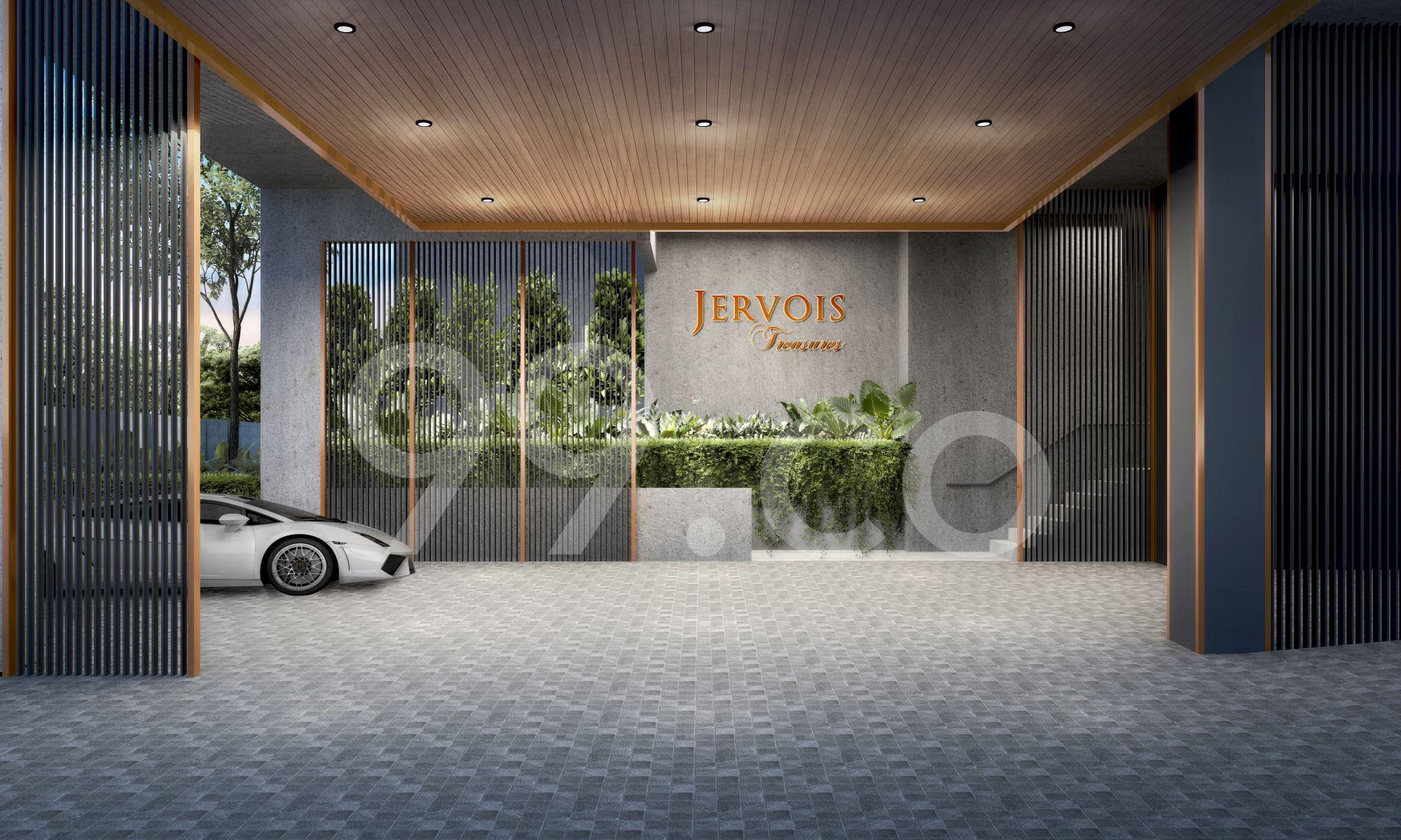 Jervois Treasures Entrance