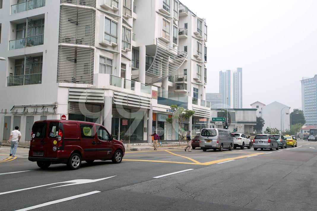 R66 Apartments  Street