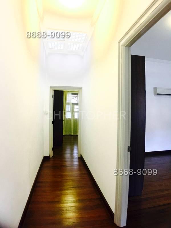 High Ceiling Walkway