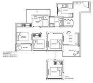 3 Bedrooms Type 3C1g