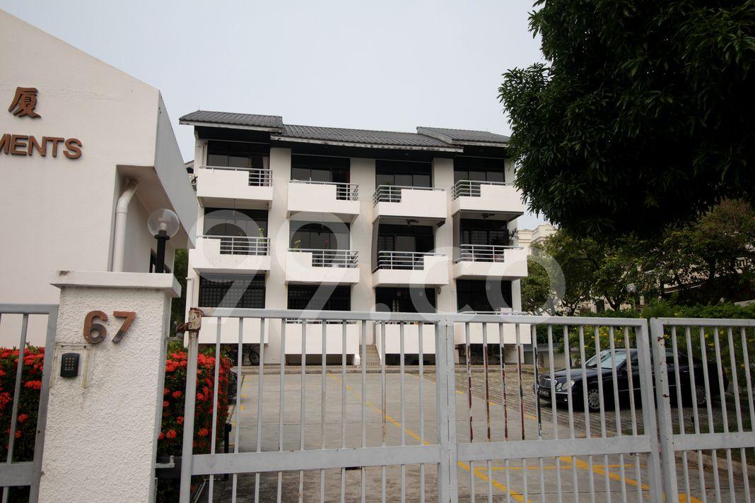 Gemini Apartments  Elevation