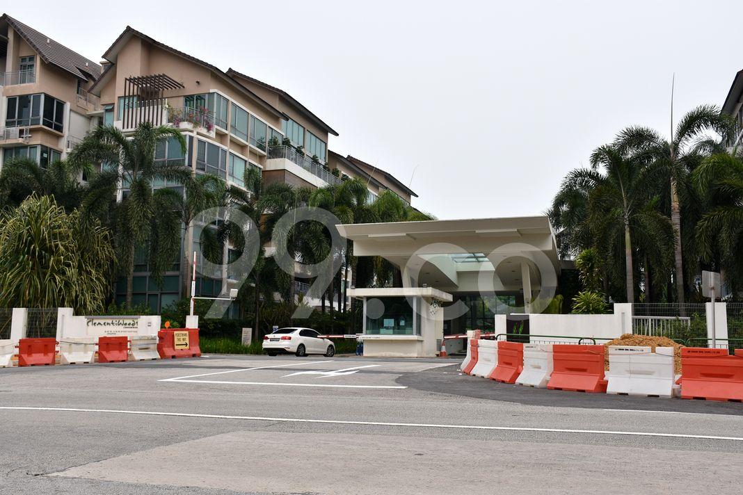 Clementiwoods Condominium  Entrance