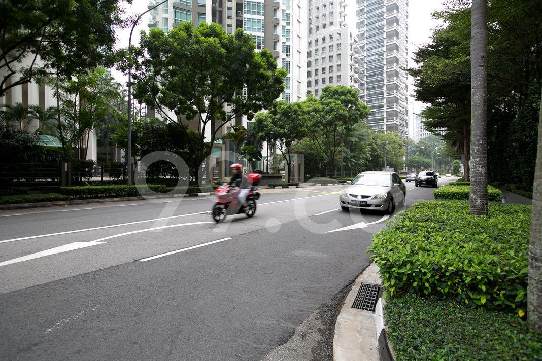St. Regis Residences Singapore  Street