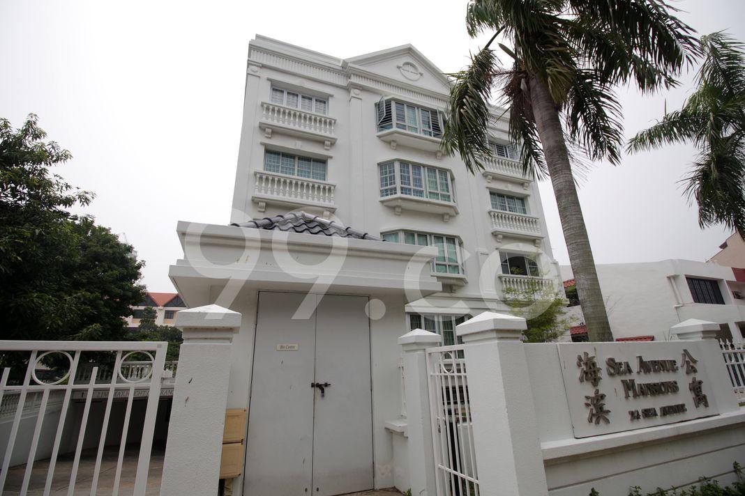 Sea Avenue Mansions  Elevation