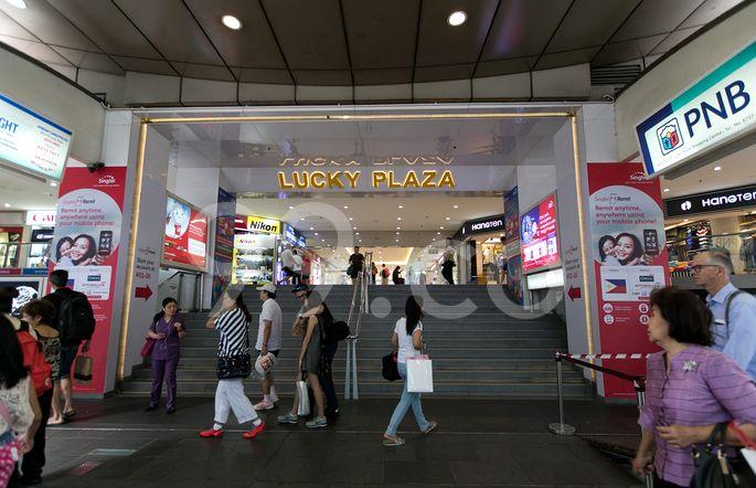 Lucky Plaza Lucky Plaza - Entrance