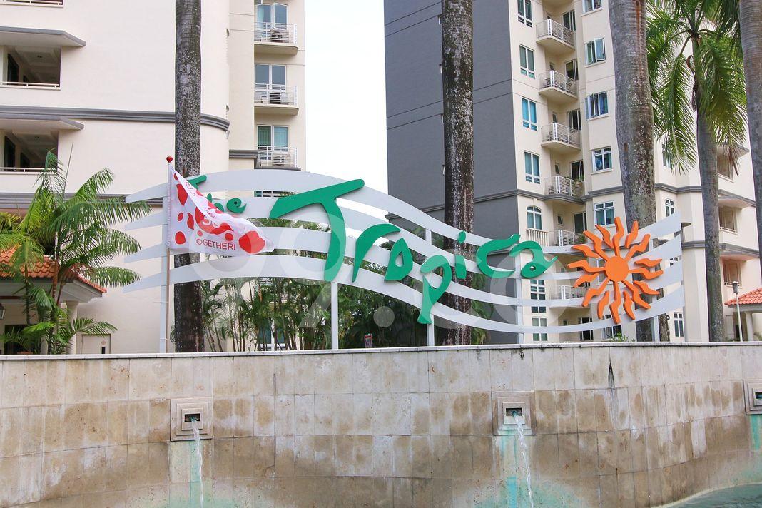 The Tropica  Logo