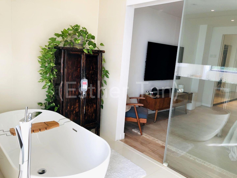 Master Bedroom ensuite bathroom (Bathtub and Shower)