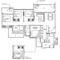 4 Bedrooms Type 4DP1G