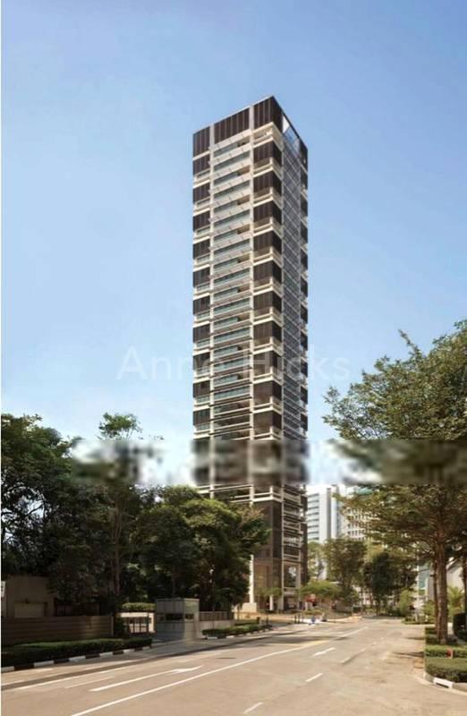One apartment per floor