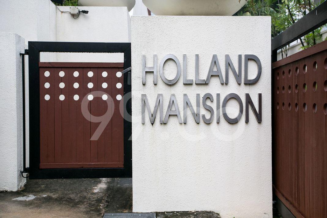 Holland Mansion  Logo