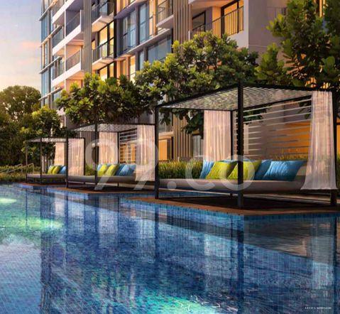 Sims Urban Oasis Pool