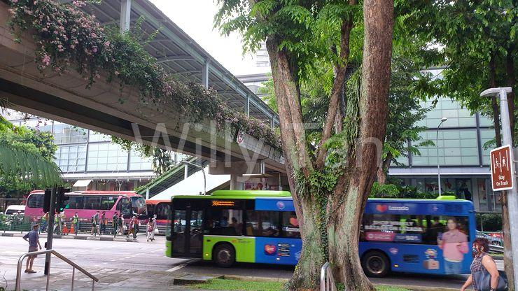 6min cover walk way to AMK Hub, MRT