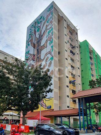 HDB-Hougang Block 661 HDB-Hougang