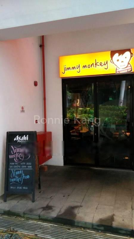 Cafe Jimmy Monkey