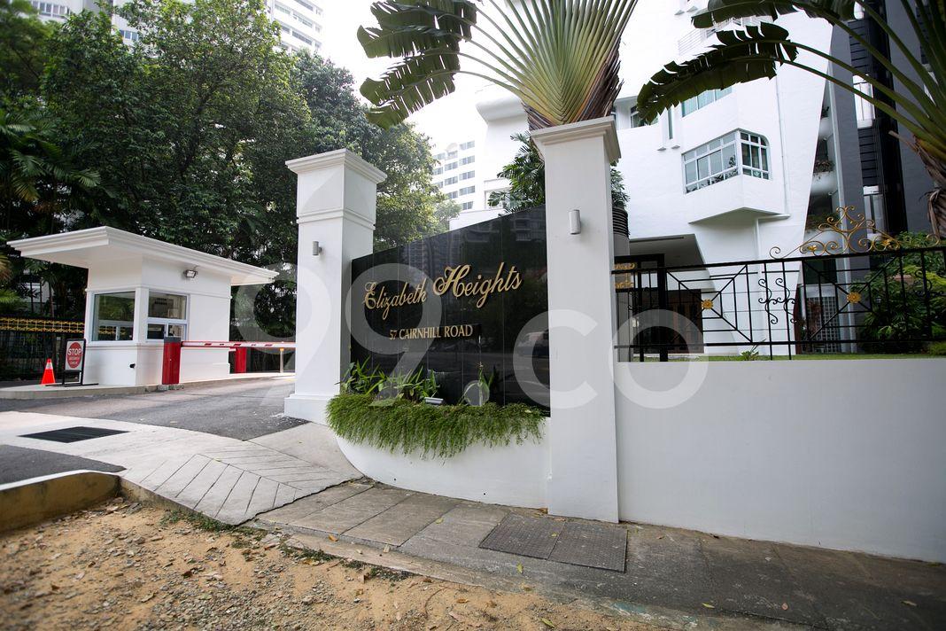 Elizabeth Heights  Entrance
