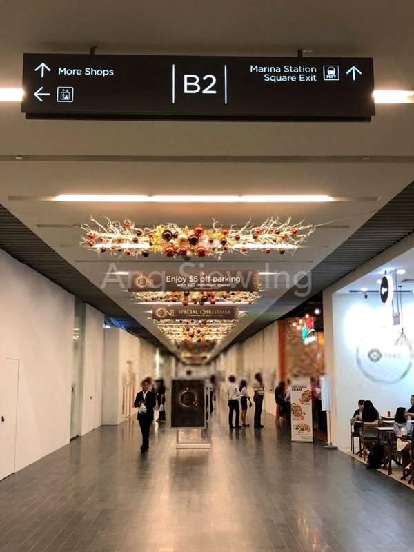Future direct access to Marina Bay MRT at basement 2