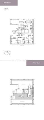 Type PH4 - 4 Brm + Study Penthouse 6,125 Sqft