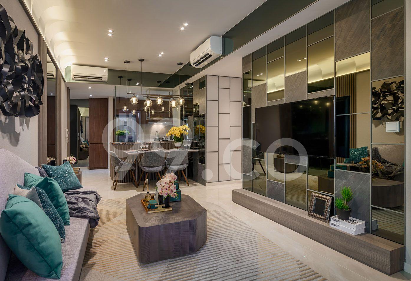 Kent Ridge Hill Residences Living Room