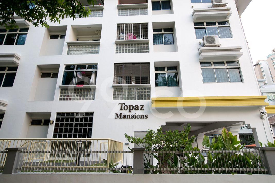 Topaz Mansions  Entrance