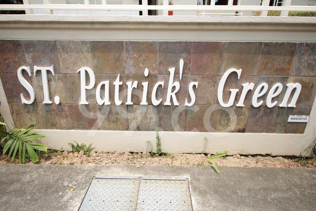 St. Patrick's Green  Logo