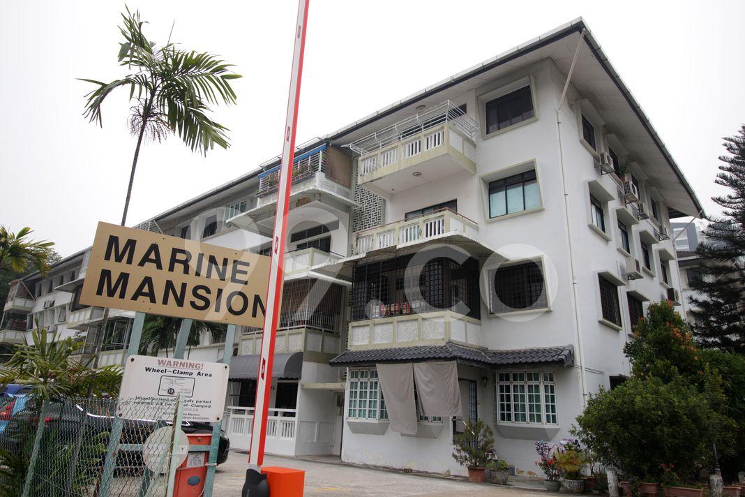 Marine Mansion  Elevation