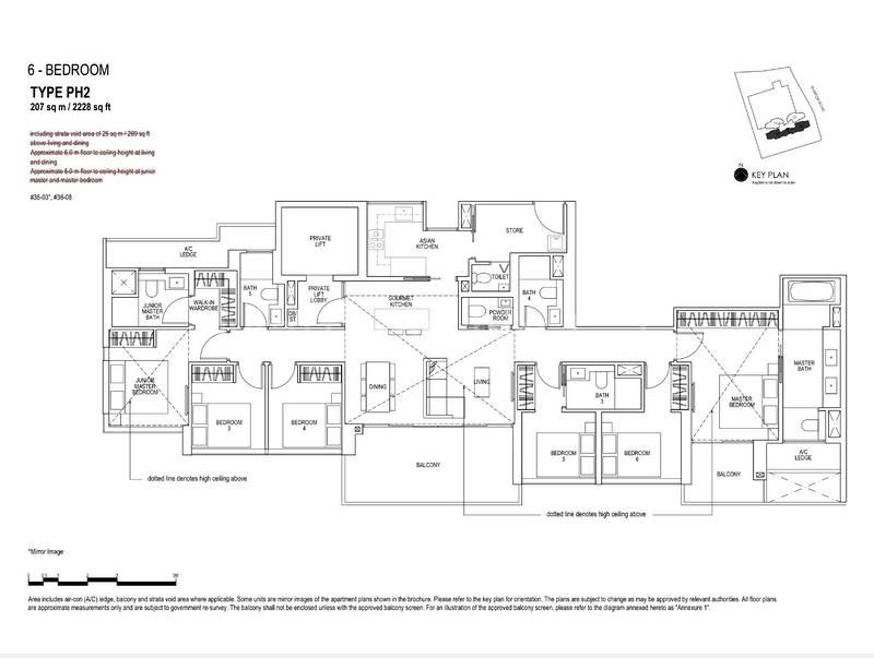 6 Bedroom Penthouse
