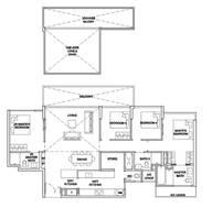 4 Bedrooms Type 4BRPH2