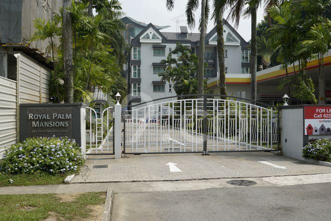 Royal Palm Mansions Royal Palm Mansions - Entrance