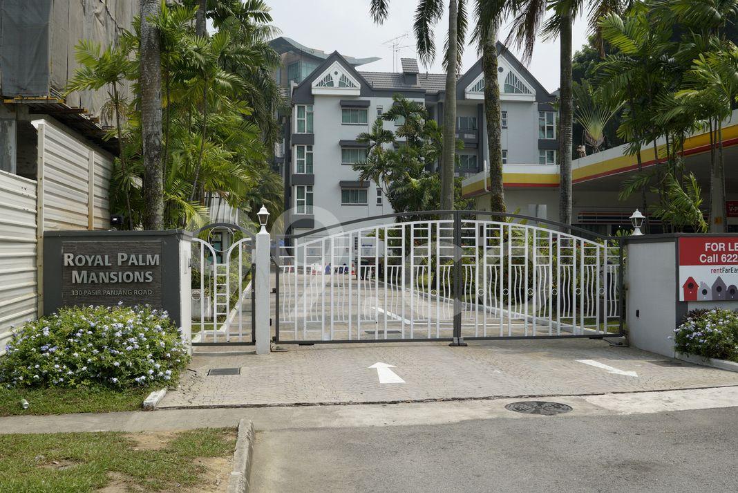 Royal Palm Mansions  Entrance