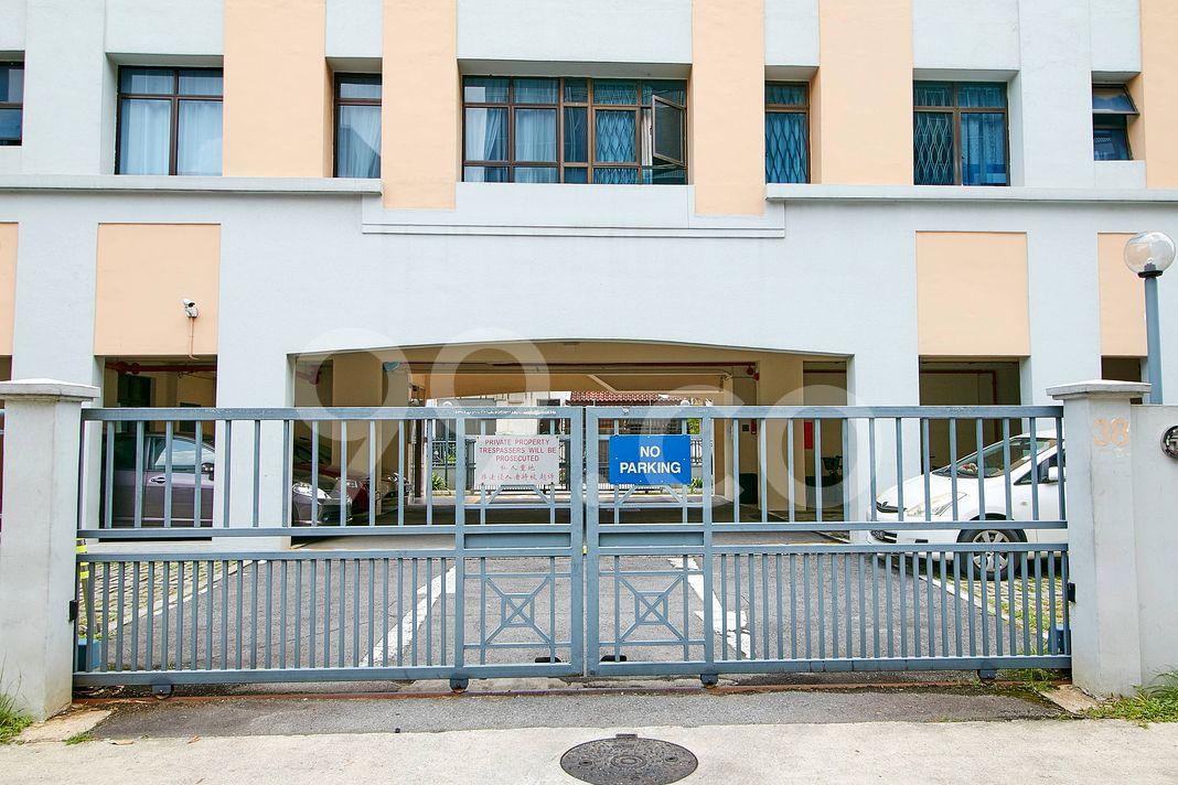Skt Mansions  Entrance