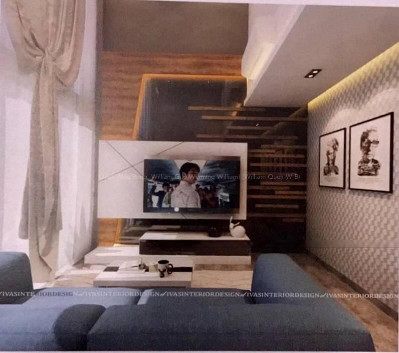 Living Hall - Artist Impression