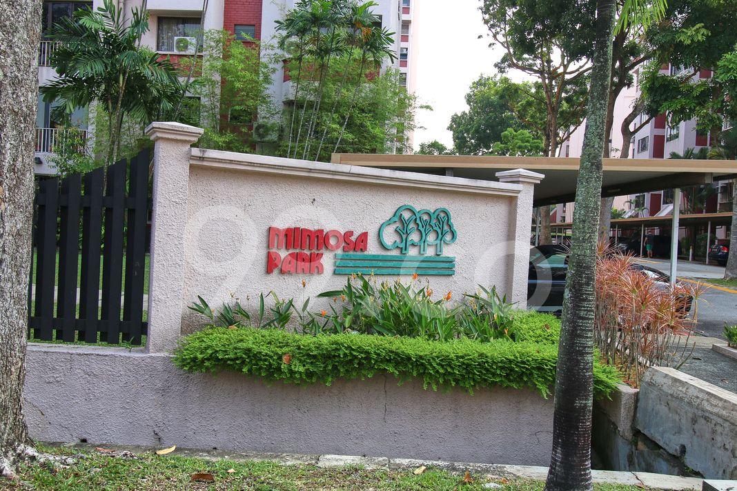 Mimosa Park  Logo
