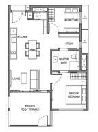 2 Bedrooms Type B15