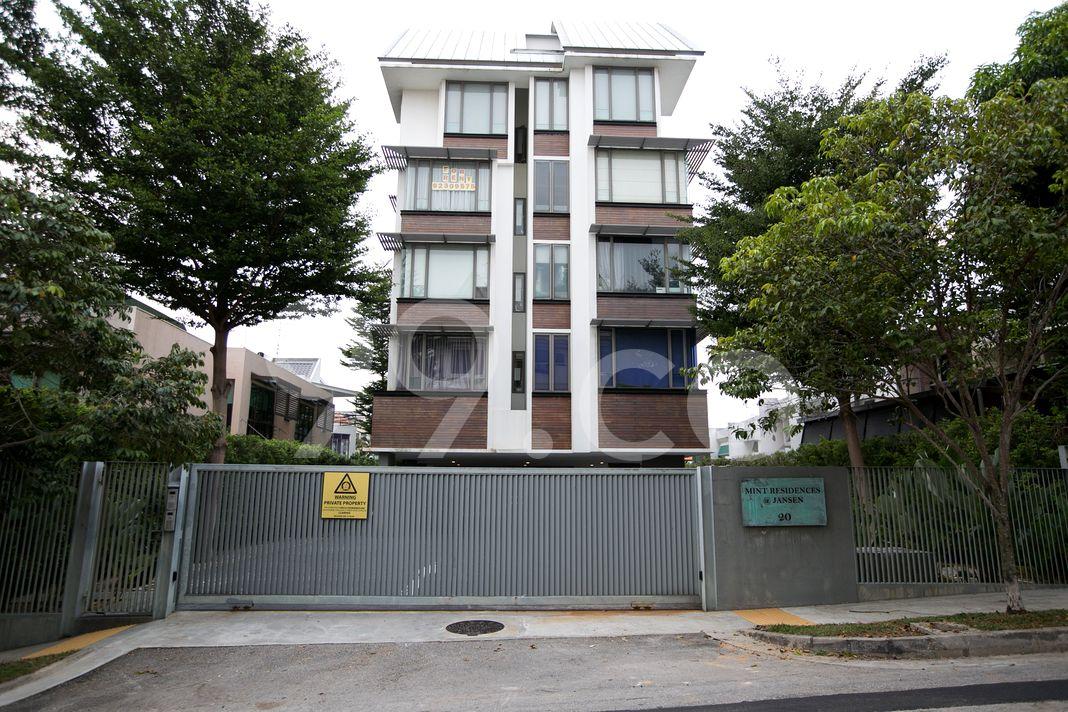 Mint Residences @ Jansen  Elevation