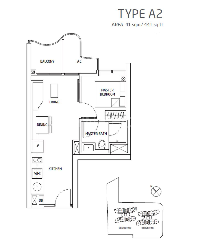 Queens Peak - Floor plan