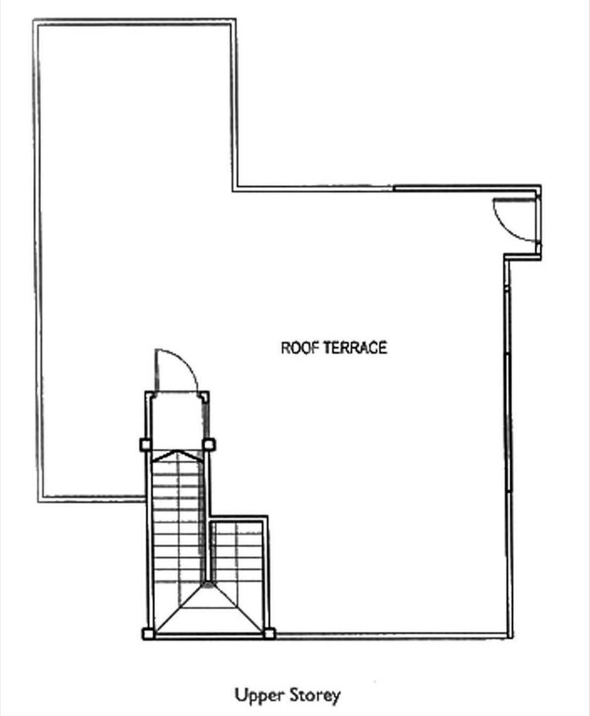 Upper Floor (Floor Plan)