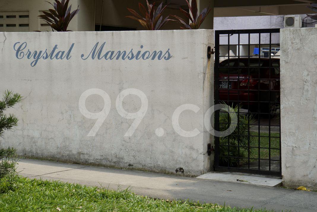 Crystal Mansions  Logo