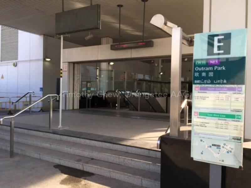 Outram MRT Station EXIT E
