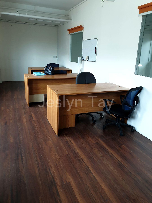 mezzanine floor with office