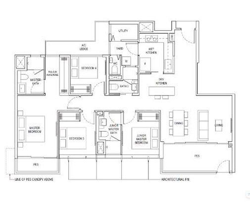 B4-P1 Floor Plan