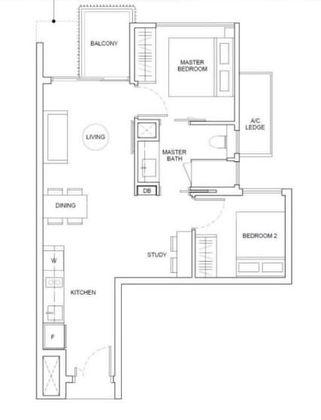 BS2a Floor Plan