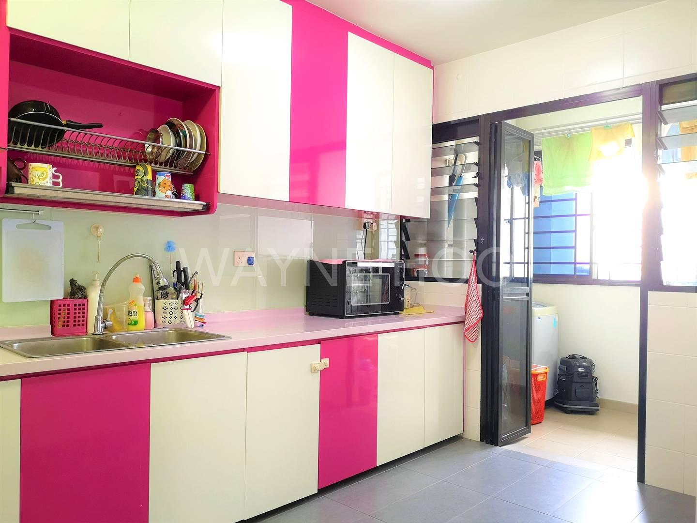 Segar Vale 546C Kitchen with yard