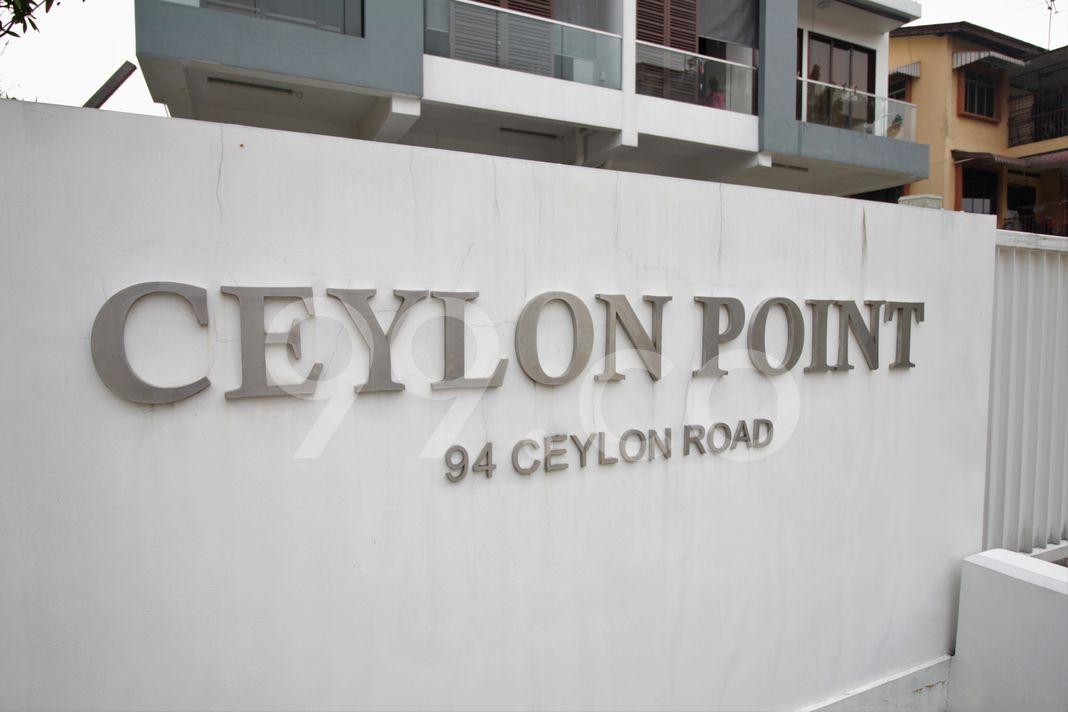 Ceylon Point  Logo