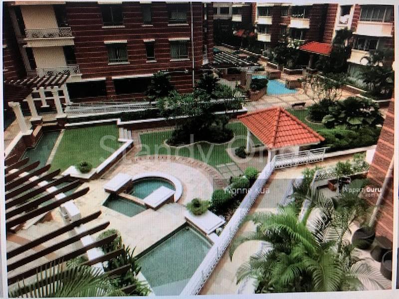 Pool surrounding