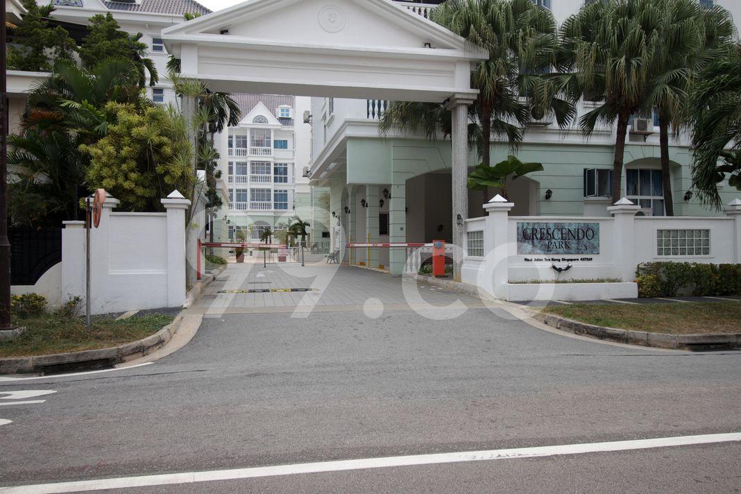 Crescendo Park  Entrance