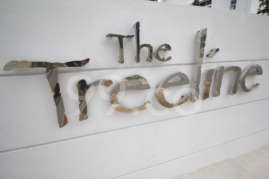 The Treeline  Logo