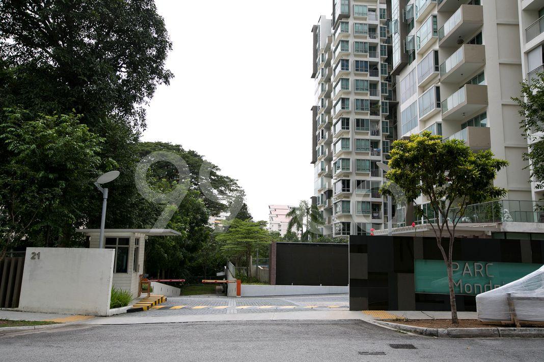 Parc Mondrian  Entrance