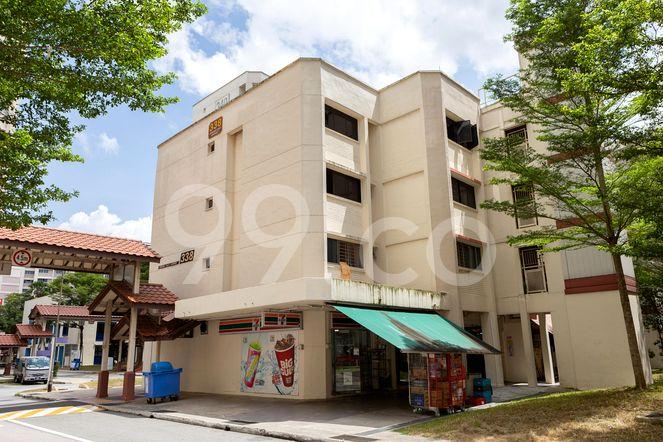 HDB-Jurong East Block 338 Jurong East
